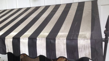 Dirty Awning Fabric