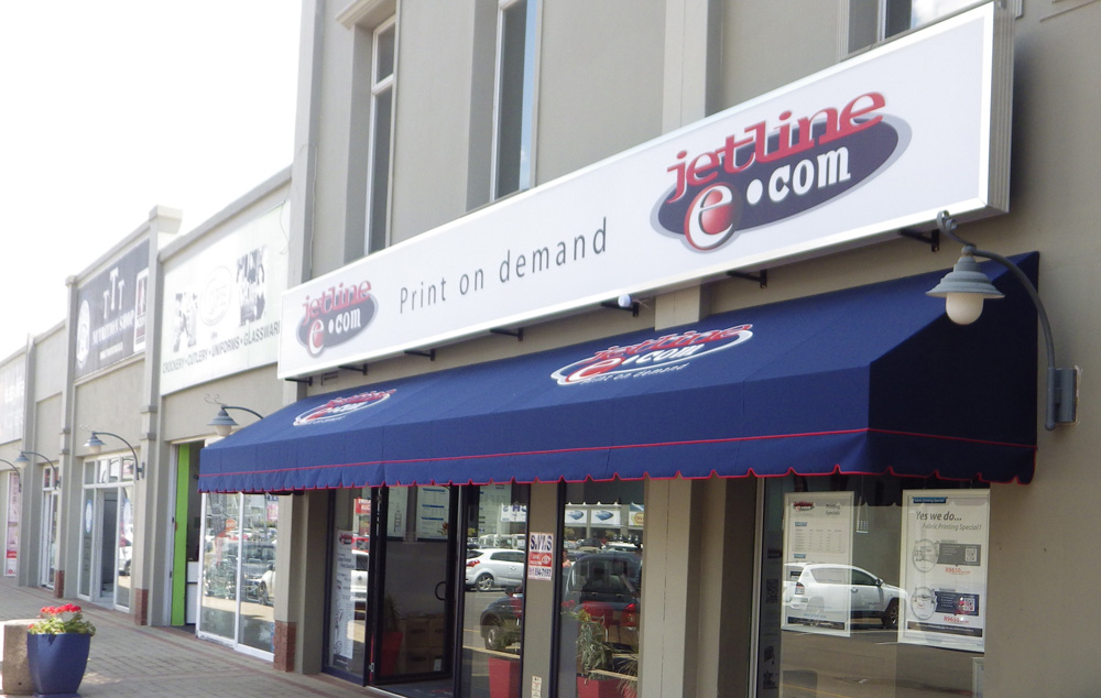 Branded Awning